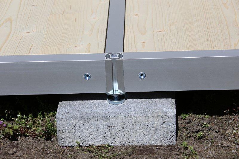 Randprofile aus Aluminium 60/30 mm