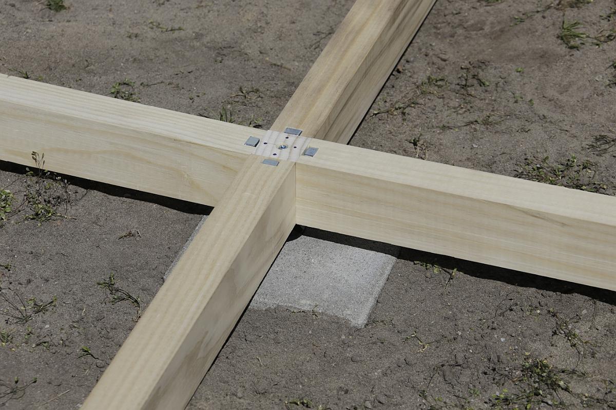 Ein zusammengesetztes Mittelkreuz