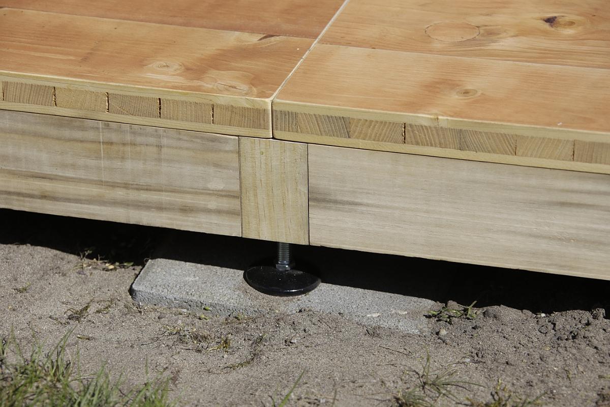 Randprofil aus Holz 70/45 mm, auch Isoliert möglich für Wintercamping