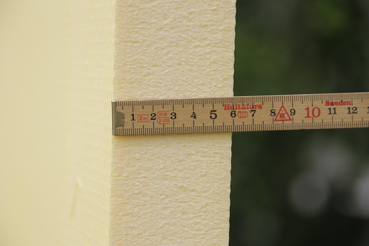Die 60 mm Hartschaumplatte